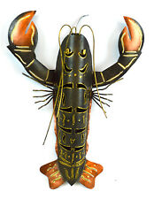 OCEAN LOBSTER METAL  CONTEMPORARY HOME DECOR TROPICAL ISLAND MODERN LIGHT
