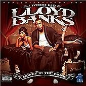 LLOYD BANKS (mixed By) Money in the Bank CD ALBUM  NEW - STILL SEALED