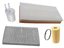 VW Beetle 2.5 (06-10) Air Oil Fuel Cabin Filters (4 pcs) COMPOSITE tank engine