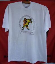 1991 cambridge academy martial arts Screen Stars rare vintage t-shirt white
