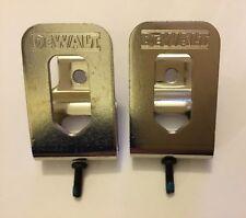 2 New Dewalt N268241 20V Belt Clips Hooks for DCF887, DCD996, DCF885, DCD771 etc