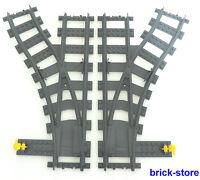 LEGO® Eisenbahn  2x Weichen / 1x links / 1xrechts ( 3677,7938,7939,60051,60052)