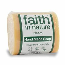 Faith in Nature Neem Pure Vegetable Soap 100g (Pack of 6)