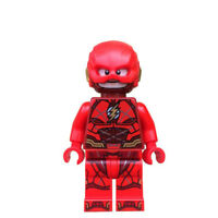 The Flash - Marvel Lego Moc Minifigure, Brand New & Sealed Matte Red Minifig