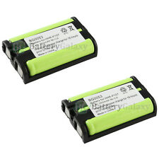 2 Cordless Home Phone Rechargeable Battery for Panasonic HHR-P107 HHRP107 HOT!