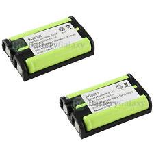 2 Cordless Home Phone Battery Pack 350mAh NiCd for Panasonic HHR-P107 HHRP107