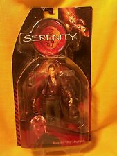 """Malcolm """"Mal"""" Reynolds Serenity action figure Nos 2005 Firefly"""