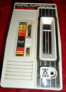 Vintage 1978 Mattel Electronics Auto Race Handheld -WORKS