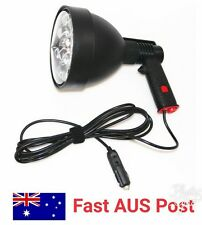 Powerful 60 Wat 150mm 12v Spotlight handheld Hunting Spot Light Geninue CREE LED
