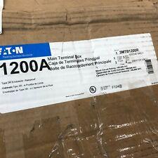 Eaton 1200a Main Terminal Box 3mtb1200r Type 3r Rainproof 1ph3w Or 3ph 4w