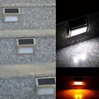 LED Solar Power Path Stair Outdoor Light Garden Yard Fence Wall Landscape Lamp G