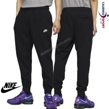 1999643-nike Sportswear Club Jggr ft Pantalone Sportivo Uomo Black/(white) M