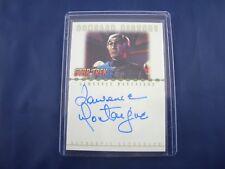 Star Trek Nemesis Autograph Card RA4 Lawrence Montaigne as Decius