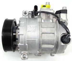 NEW GENUINE VW TOUAREG MK2 7P 3.0 TDI DENSO AIR CONDITIONING CON COMPRESSOR