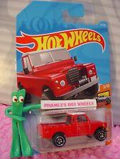 LAND ROVER SERIES III PICKUP truck #111✰red/white✰2019 i Hot Wheels WW CASE E/F