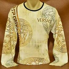 New Season Brand New With Tags Men's VERSACE SWEATSHIRT Slim Fit Size M to 2XL