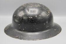 Original US WWII Civilian Defense Helmet - Repainted