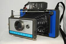 Polaroid Automatic 210, instan camera,blue fp100c,converted cr123,lomography(b2)
