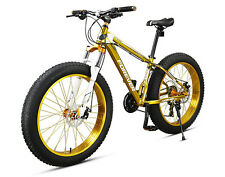 24speed 26inch 4.0 fat tire aluminum alloy bicycle mtb mountain sand snow bike