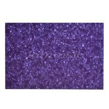 Purple Guitar Bass Pickguard Sheet Scratch Plate Blank Material 3 Ply 43x29cm