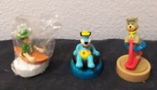 vintage Wendy's fast food toys- Yogi Bear and Friends promotion- lot of 3 1990