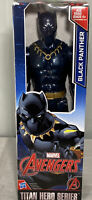 Marvel Avengers Titan Hero Series Retro Black Panther 12 inch Action Figure Toy