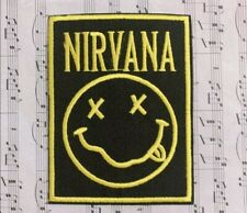 Nirvana Rock & Roll Band Patch Patches Embroidered Applique~Iron on 1922