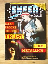 ENFER N°21 STOCKS SORTILEGE METALLICA THE FIRM TRUST et BERNIE THE STOOGES UFO