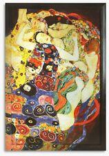 Bild Kunstdruck Gustav Klimt Virgin Jungfrauen Galeriebild mit Rahmen -20% SALE