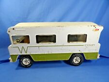 Vintage Pressed Steel Toy Tonka Winnebago Indian RV Camper missing 1 wheel