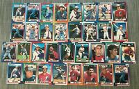 1990 MONTREAL EXPOS Topps COMPLETE Baseball Team Set 33 Cards RAINES WALKER RC!