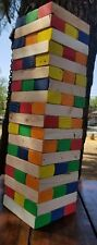 Giant Jenga Jumbo Wood Block Stacking Tumbling Tower Yard Bar Party Garden Game