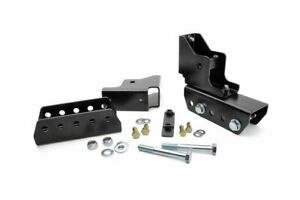 """Rough Country 1.5"""" Rear Shackle Relocation Kit (fits) 84-01 Jeep Cherokee XJ"""