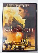 Video DVD - Munich - Eric Bana Daniel Craig Widescreen WS - NEW Open WORLDWIDE