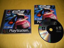 PS1 GAME-KILLER LOOP-SONY PLAYSTATION-PAL-PS2-PS3-MULTILINGUE-ITA