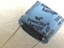 0.47F 5V SUPER CAPACITOR COOPER BUSSMAN POWERSTOR HIGH ENERGY AEROGEL X1  fbb19b