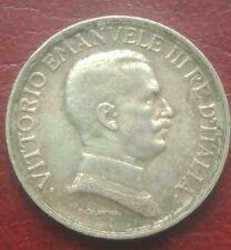 1  LIRE  ARGENT VICTOR  EMMANUEL  III  1917  ROME  TTB