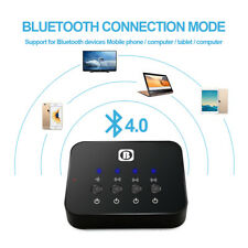 Portable Bluetooth Splitter Audio Sharing Fast Transmitter Multi-point Adapter W