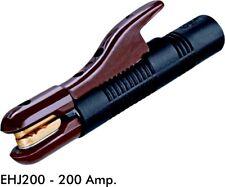 JACKSON STYLE 200 AMP WELDING ROD ELECTRODE HOLDER