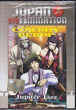 Dvd **COWBOY BEBOP ♦ JUPITER JAZZ** Japan Animation nuovo 1998