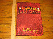 MIND'S EYE THEATRE - RPG LAWS OF JUDGMENT TIME OF JUDGMENT 2204 WW5099