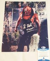 KANE HODDER SIGNED 11x14 PHOTO VICTOR CROWLEY BECKETT BAS COA 716
