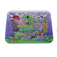 1x Ooze Purple Factory Design Roll Tray ( Mini 7 X 5 ) High Quality Durable