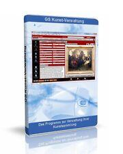 GS Kunst-Verwaltung - Software für Gemälde, Grafiken, Skulpturen und  Plastiken