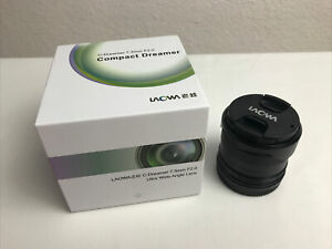Laowa 7.5mm F2.0 Micro Four Thirds Ultra Wide Angle (Non Fish Eye Lens) MINT