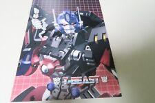 Transformers illustration art Doujinshi T-BEAST (B5 52pages) Kuramochi Zukan