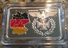 1 Oz OUNCE Germany BUNDESREPUBLIK TERRITORY .999 Silver Art Bar Novelty Coin