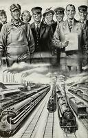 Illinois Central Railroad - 20 Historic Books on CD - D253