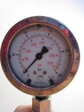 Vintage IMT Tools Germany Automotive Compression Tester Oil Filled Gauge