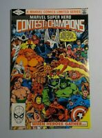 CONTEST OF CHAMPIONS #1 VF/NM 9.0 || WHEN HEROES GATHER! (Marvel Comics, 1982)